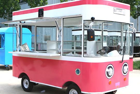 移动电动餐车